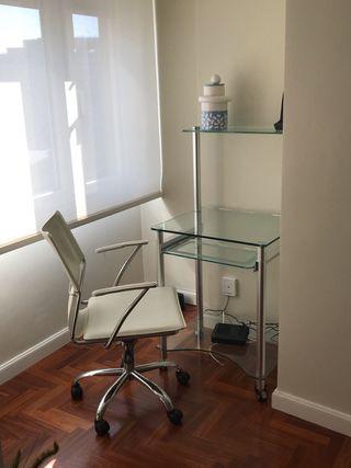 Conjunto mesa y silla oficina