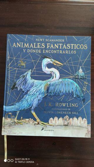 Libro Animales fantásticos y donde encontrarlos