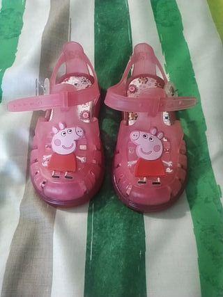 zapatilla Peppa pig