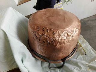 caldera de cobre