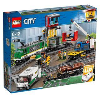 LEGO City 60198 - Tren de Mercancías