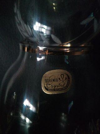 bote cristal de Bohemia