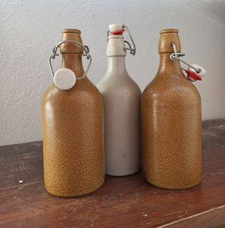 Botellas cerámica cierre presión de las buenas