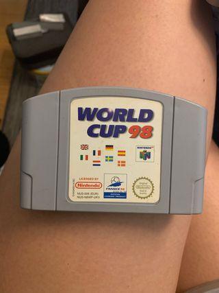 World Cup 98 para Nintendo 64