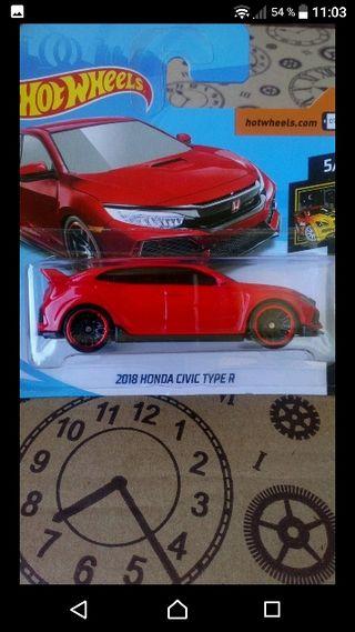 2018 Honda Civic Type R Red