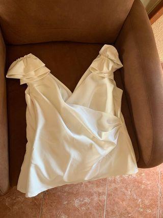 Blusa boda blanca