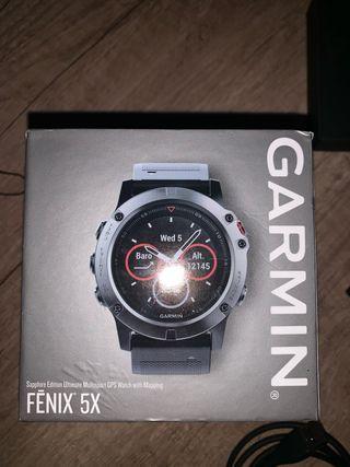 Garmin Fenix 5X .
