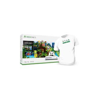 Consola Xbox One S 1TB + 2 Mandos Wireless