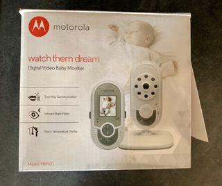 Monitor vídeo bebe MOTOROLA (IMPECABLE)