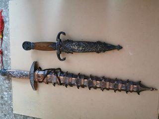 cuchillo katana o machete