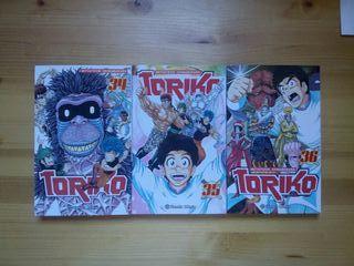 Manga Toriko 34, 35, 36