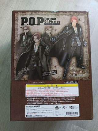 "Figura POP One Piece - Shanks ""Strong Edition"""