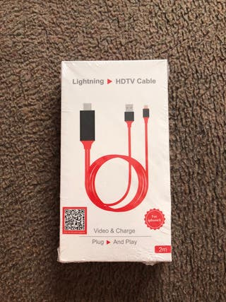 Cable HDMI iphone