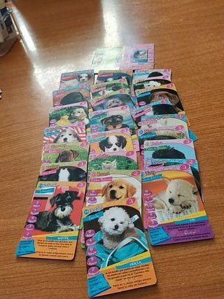 cartas happy puppy