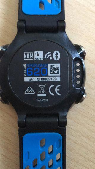 Reloj pulsómetro garmin