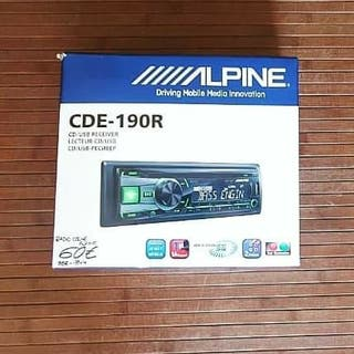 Radio Coche CD/USB ALPINE CDE-190R