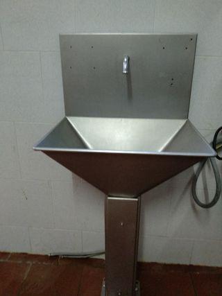 Lavamanos Industrial Acero Inox pedal ( C-11)