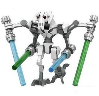 General Grievous Minifigures Star Wars Compatible