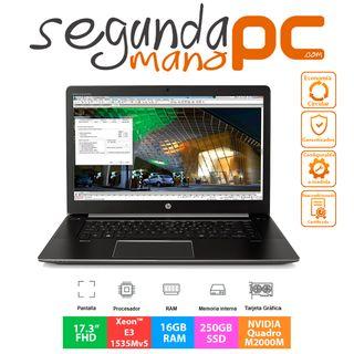 "HP ZBook 17 G3 - 17.3""FHD - 16GB RAM - 250GB SSD"