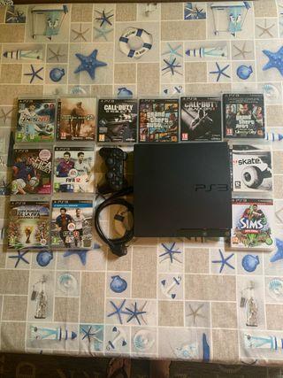 Ps3 500gb y muchos juegos