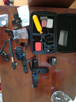 GoPro Hero 5 y accesorios