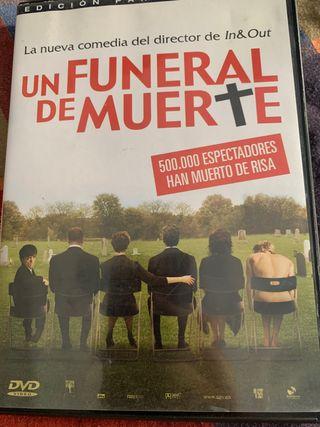 Un funeral de muerte DVD