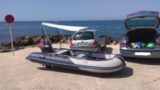 Embarcación neumática OZEAM 360 + Motor Yamaha 15