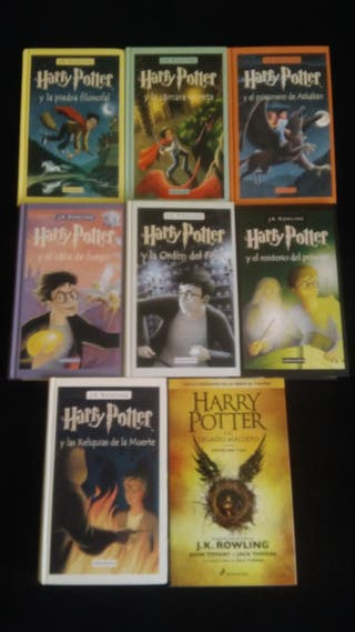 Saga libros Harry Potter
