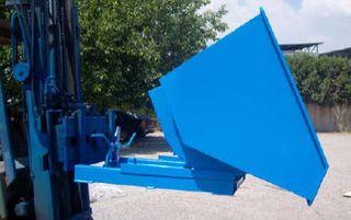 Contenedor/tolva basculante para residuos
