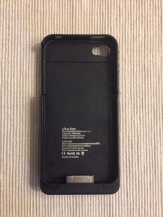 Funda cargador inalámbrico iPhone 4
