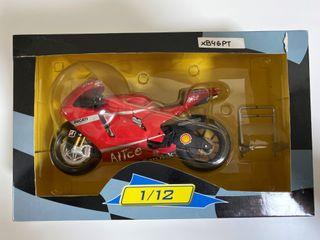 Maqueta moto escala 1/12 Altaya