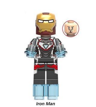 Iron Man AEG Minifigures Vengadores Compatible