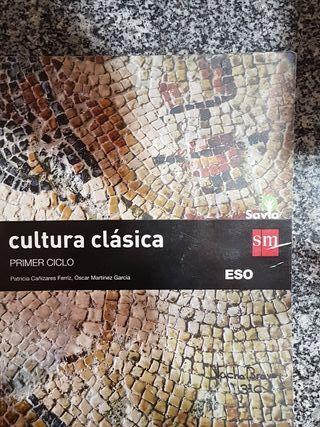 LIBRO Cultura Clásica 3ESO SM Savia