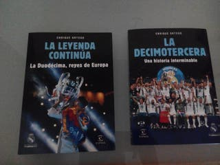 Libros Enrique Ortega Real Madrid