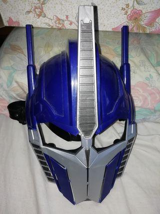 máscara nueva tal como se ve