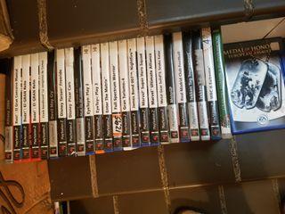25 JUEGOS PS2, DE 2A MANO