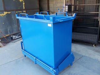 Contenedor de residuos de apertura inferior