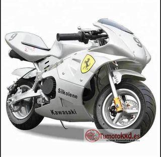 minibike de carretera 49cc infantil