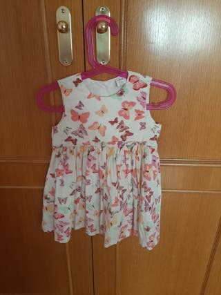 Vestido Talla 12-18 meses. H&M.