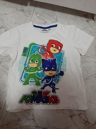 camiseta los pijamas