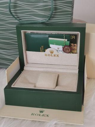 Caja para reloj Rolex