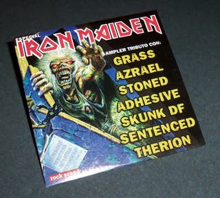 CD Tributo a IRON MAIDEN