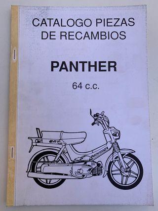 Catálogo piezas de recambios Panther 64 c.c.