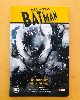 Batman All Star Los confines de la tierra Snyder