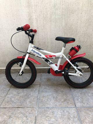 Bicicleta para aprender a andar hasta 5 o 6 años