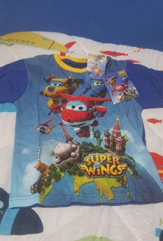 camiseta superwing