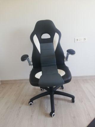 silla oficina y juegos.