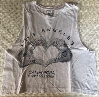 Camiseta corta Atmosphere California