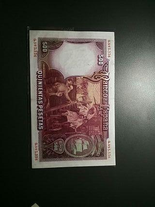 Billetes Peseta