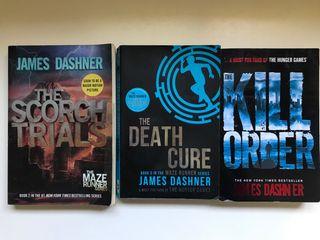 Libros saga 'The Maze Runner' en inglés
